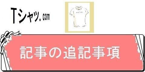 Tシャツ通販レディーS・追記事項(カテゴリ)画像